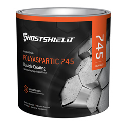 Polyaspartic 745- abrasion resistance and chimical resistance
