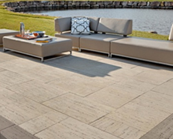 travertina patio slabs