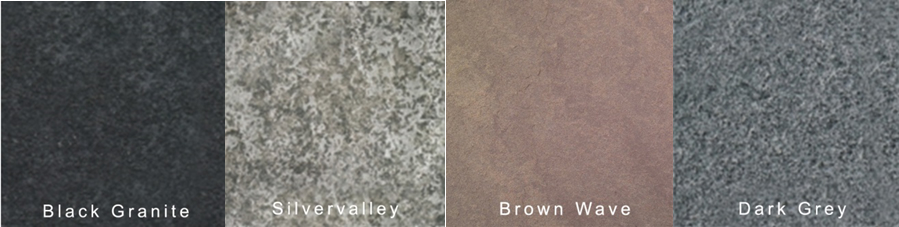 Natural Stone Block Colours